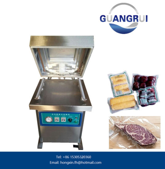 Electric Small Hand Press Food Packing Machine pictures & photos