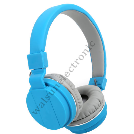 Folding and Colorful Stereo Headphone with Ce/RoHS/FCC Certificate pictures & photos