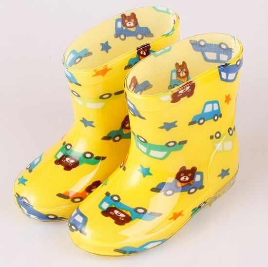 china 2018 spring rubber shoes children boots for girls boys kids