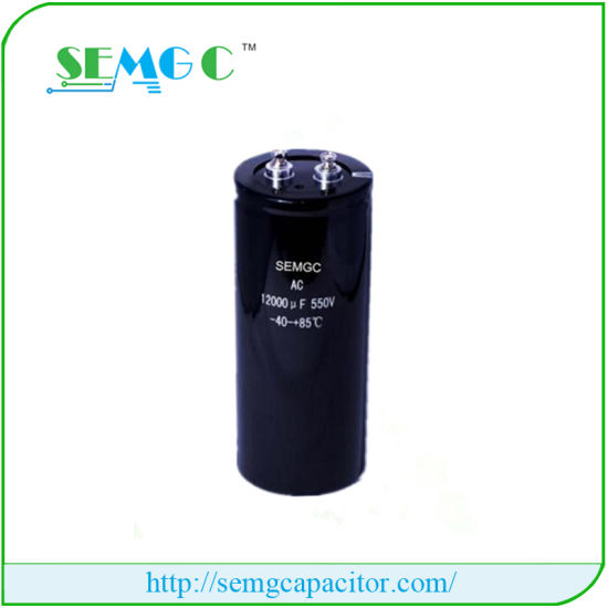 10000UF 400V High Voltage Electrolytic Capacitor Motor Factory Price pictures & photos