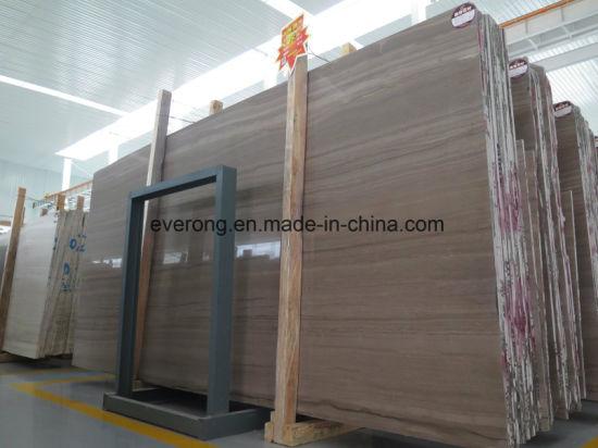 Coffee Brown Wood Grain Marble Cut To Size For Floor Tiles Countertops Vanity Tops