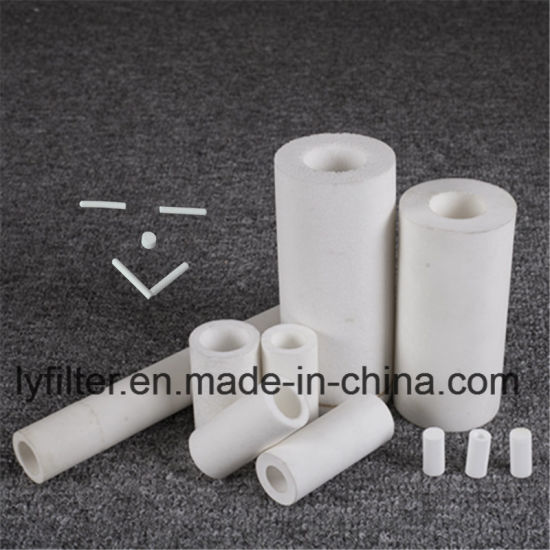 China Manufacturer Sintered Porous Plastic Filter Candles Rods Tube For Air And Liquid Filtration China Sintered Porous Plastic Porous Plastic Filter
