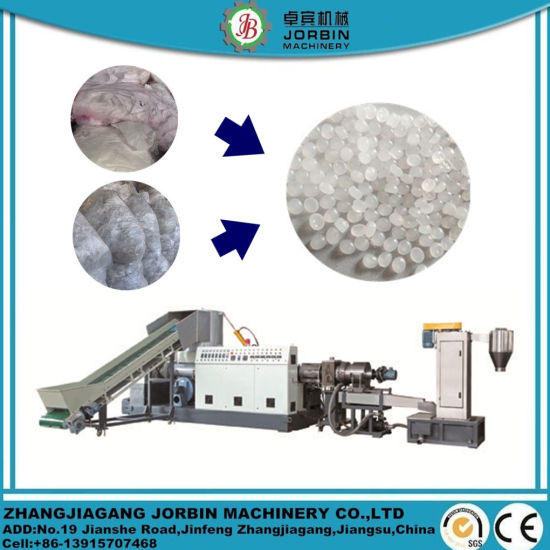 Auto Plastic Granulator/Waste Plastic PP PE HDPE LDPE LLDPE Pet Film Recycling Granulating Machinery