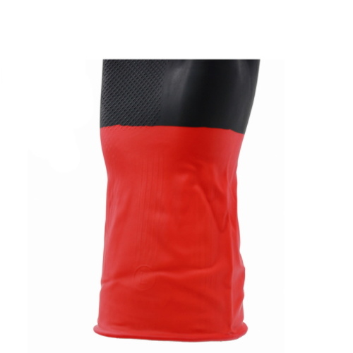 Black & Red Color Industrial Gloves pictures & photos