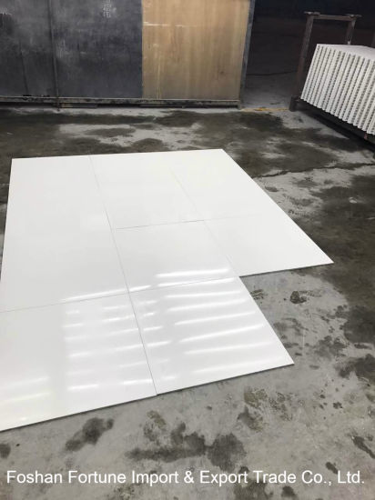 China Ceramic Building Material Super White Polished Porcelain Floor