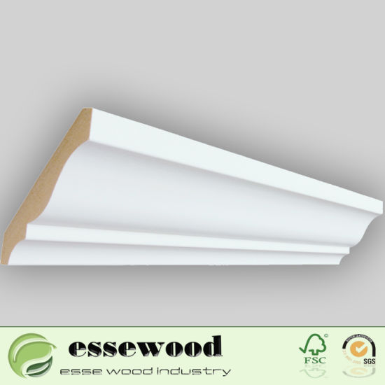 House Exterior Primed Wood Trim Interior And Decoration By Mdf Moulding