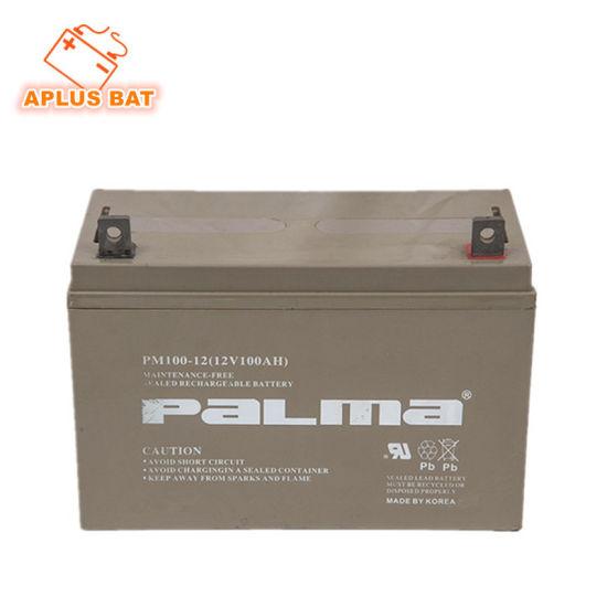 New Arrival 12V 100ah Power Batteries for Solar System