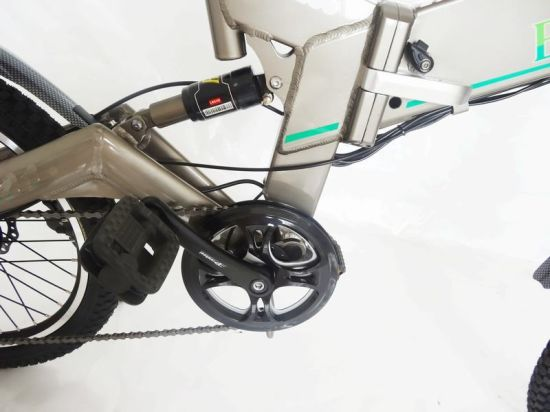 China 20 Inch Electric City Bike with Bafang Controller