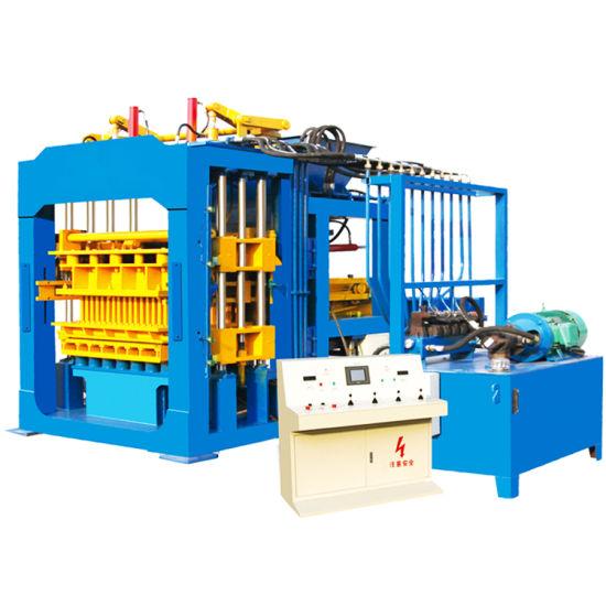 Qt8-15 Hydraulic Concrete Fly Ash Block Solid Brick Making Machine