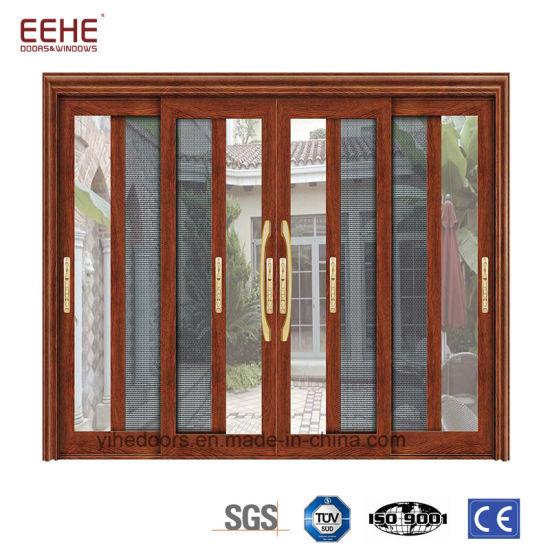 China Iterior Sliding Glass Door With Aluminum Frame China