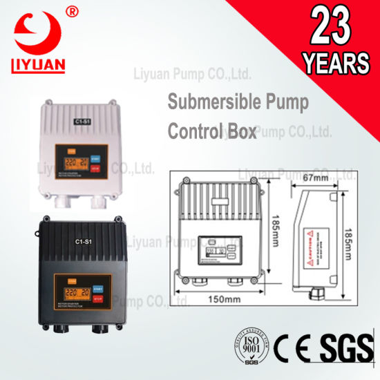 Three Phase Control Box 1.5kw-7.5kw for Submersible Pump pictures & photos