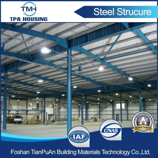 Prefabricated Steel Structure Workshop Building for Industry Warehouse pictures & photos