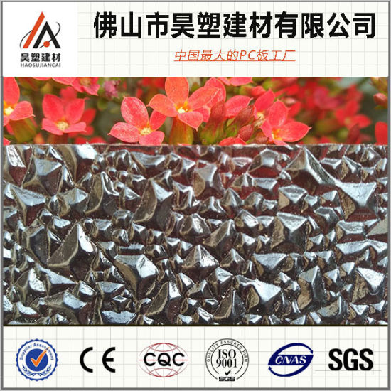Hot Sale Polycarbonate Embossed Sheet PC Plastic Sheet for Roofing pictures & photos