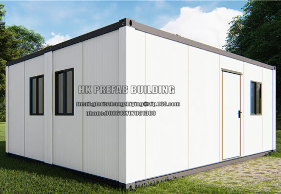 2X20 Feet High Standard Flat Pack Prefab Container House pictures & photos
