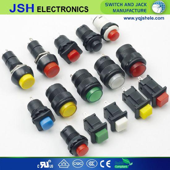 LED Light Push Button Switch