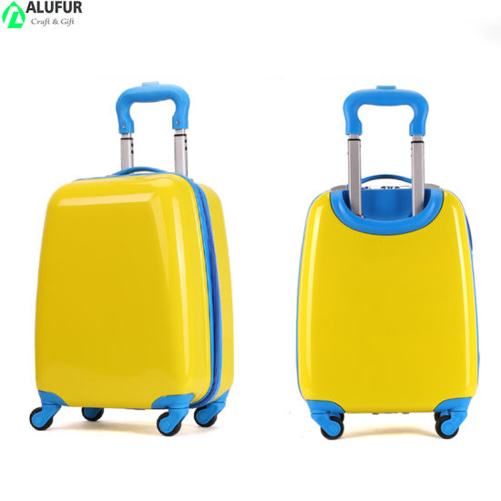 Kids Luggage Boys Suitcase with Spinner Wheels Carry on Hard Shell Travel Trolley