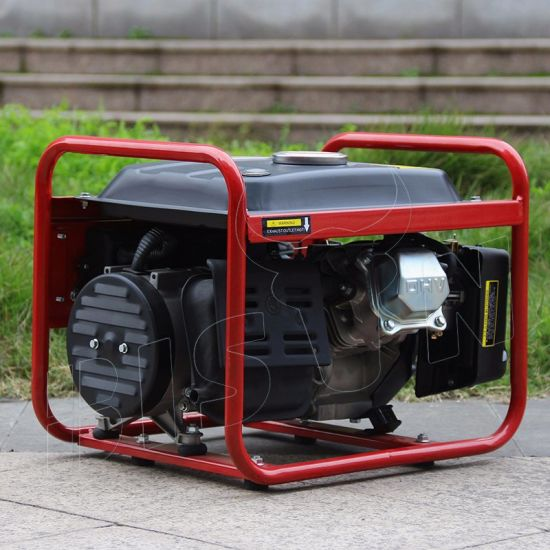 Bison Air-Cooled Small Portable Biogas Generator Price for Sale pictures & photos