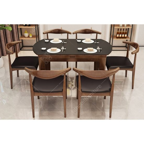 China Modern Simple Wooden Dining Table