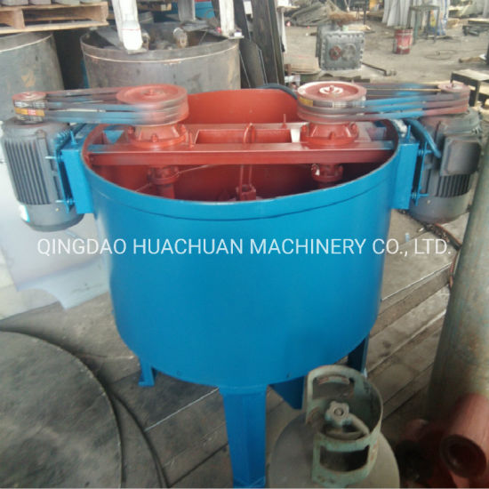 Double Rotor Sand Mixer