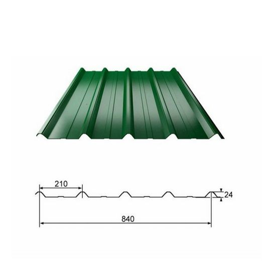 Building Material Prepainted Galvanized Corrugated PPGI Steel Roofing Sheet