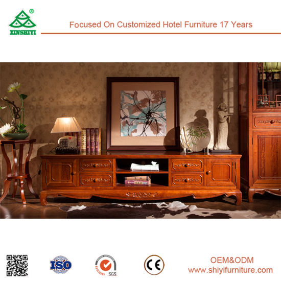 China Living Room Furniture Pictures New Model Design Wooden Tv