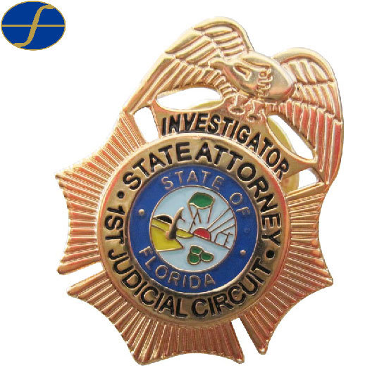 Promotional Custom Police Badge Pin pictures & photos