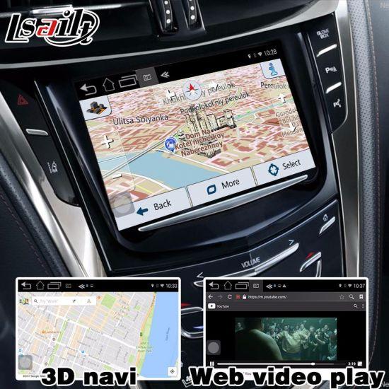 China Lsailt Android GPS Navigation Box for Cadillac Cts etc