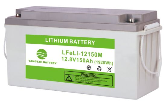 Yangtze LiFePO4 Battery Lithium Iron Phosphate Lithium Ion Battery 12V 150ah
