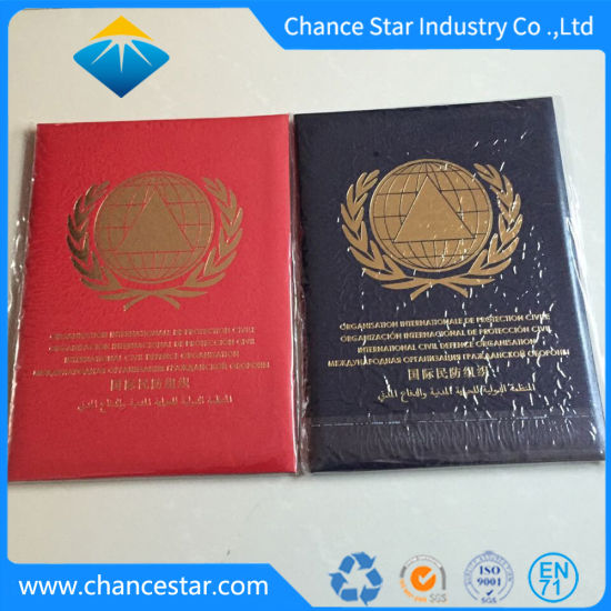 Custom Padded PU Degree Certificate Cover, PU Pad Certificate Folder