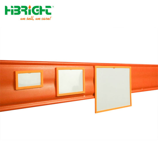 Industrial Supermarket Warehouse Pallet Rack Plastic Magnetic Label Holder pictures & photos
