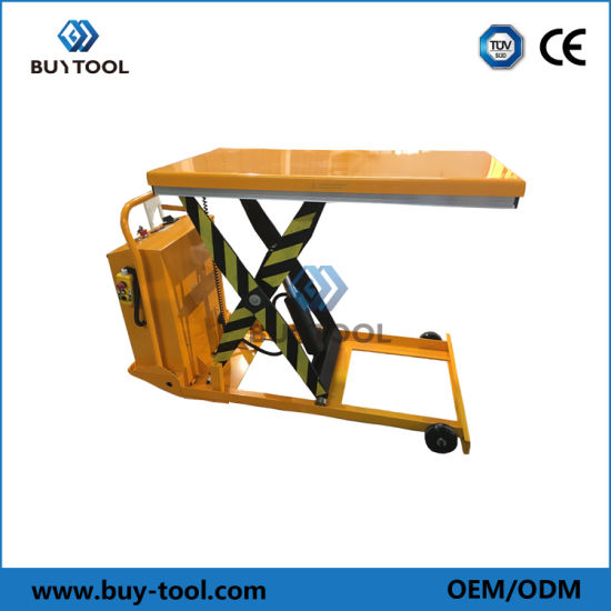 Electric Hydraulic Scissor Mobile Lift Table Ez Series