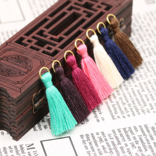 Wholesale More Colors 3cm Lace Tassel Trim for Decoration pictures & photos