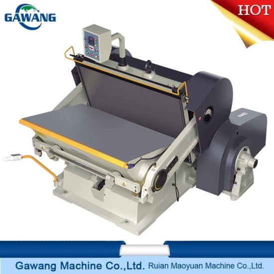 Factory Supply Continuous High Speed Stable Performance Manual Sheet Feed Paper Cup Die Cutting Machine