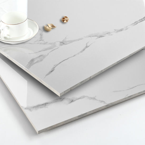 China Manufacturers Ceramic Porcelain Floor Tile Look Like Marble