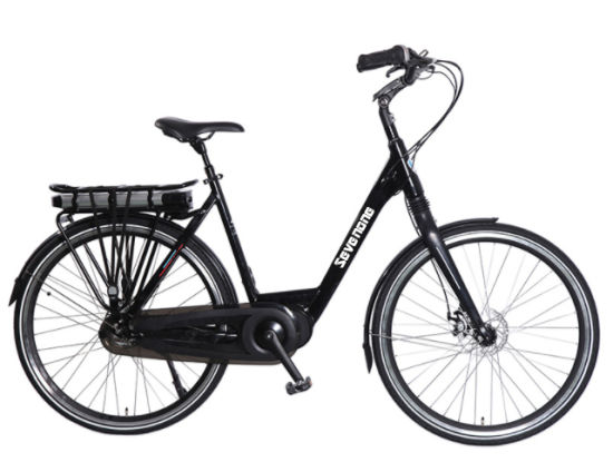 2019 High Performance 48V 500W Center Motor Black Lady City Electric Bicycle