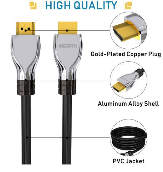 2.0 HDMI Fiber Optic HDMI Cable Gold-Plated Copper Plug