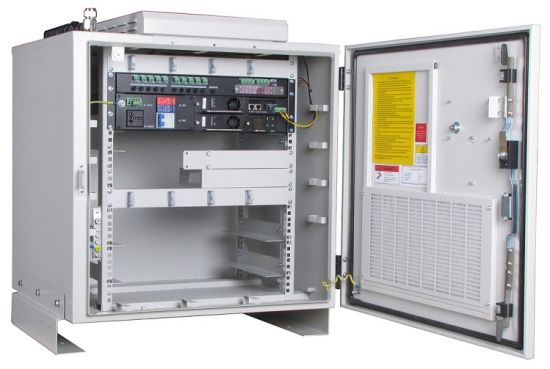 0.7m Outdoor Network Cabinet, IP 55 Telecom Cabinet with Snmp Function