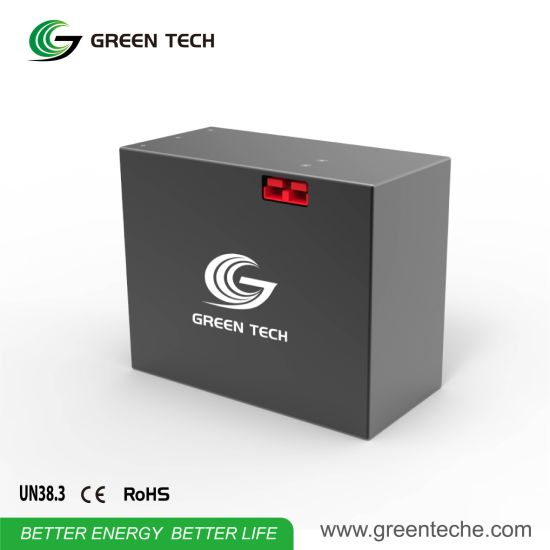 Deep Cycle Solar Rechargeable Power Safe Charger Case Sealed Graphene Battery with 24V 1000wh