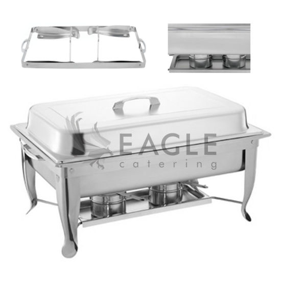 Hot Sell 533 Rectangle Stainless Steel Chafing Dish Buffet Ware