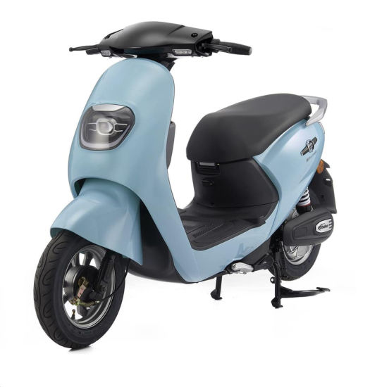New Scooter Hot Selling Electric Motorcycle with LED Light Three-Speed pictures & photos