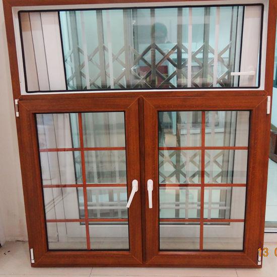 PVC Doors Windows Wood Casement Awing Window
