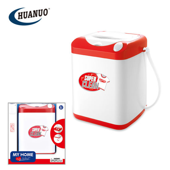 New Promotional Plastic Home Appliance Toys Mini Washing Machine