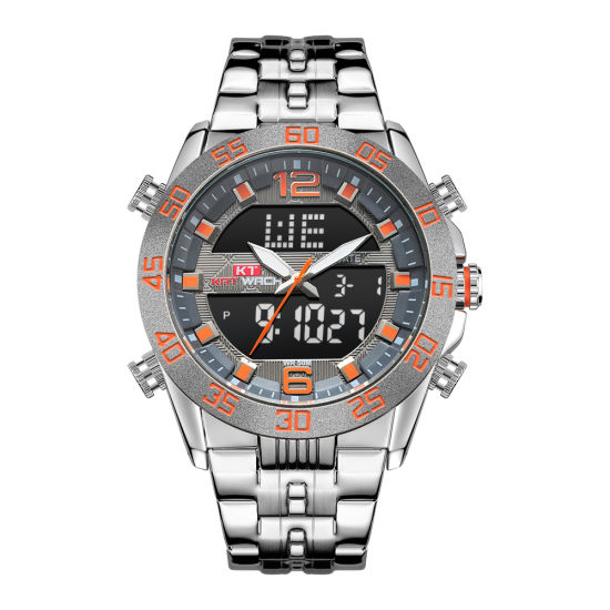 Watch Newest Man Watch Didital Quartz ODM Quality Watch Manufacture Plastic Watch pictures & photos