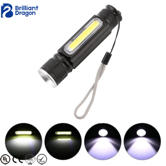10W Ultra Bright Aluminum Alloy Rechargeable Tactical Light LED Flashlight pictures & photos