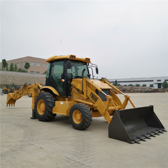 Backhoe Wheel Loader Wz30-25 with Excavator