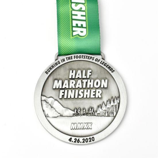 Custom Metal Award Medal Running Sports Half Marathon Games Medal