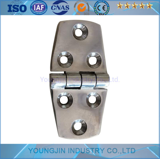 Precision Casting 304 Stainless Steel Heavy Hing Cabinet Door Hinge Heavy Flat Hinge