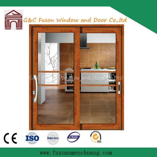 China Supplier Glass Sliding Door Main Entrance Door China Sliding