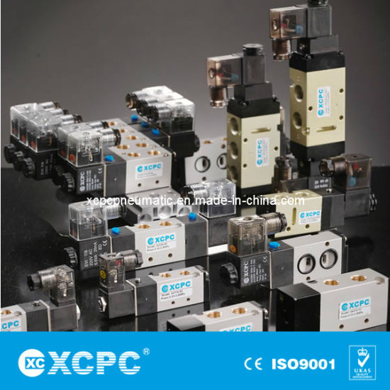 Manufacturer Supplier China Airtac SMC Automatic Directional Control Direction Pneumatic Air Solenoid Valves