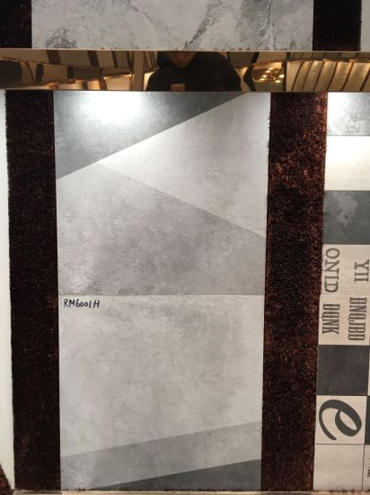 Textile Fabrics Look 600600mm Ink-Jet Non-Slip Bathroom Ceramic Floor Tile pictures & photos